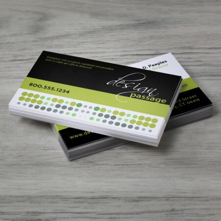 High quality business cards printing fast easy uprinting standard business cards reheart Gallery